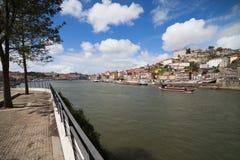 Ciudad de Oporto en Portugal Foto de archivo libre de regalías