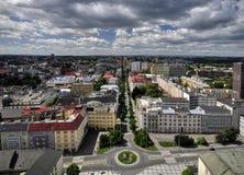 Ciudad de Ostrava Fotografía de archivo