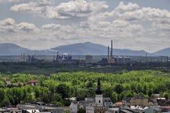 Ciudad de Ostrava Imagen de archivo libre de regalías