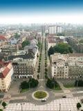 Ciudad de Ostrava checo Foto de archivo