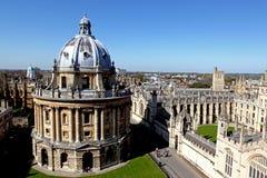 Ciudad de Oxford Fotografía de archivo
