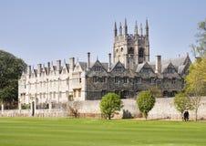 Ciudad de Oxford en Inglaterra Fotos de archivo libres de regalías
