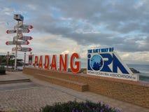 Ciudad de Padang fotografía de archivo libre de regalías