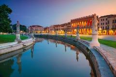 Ciudad de Padua, Italia Foto de archivo