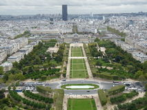 Ciudad de París Imagen de archivo