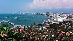 Ciudad de Pattaya en d3ia almacen de video