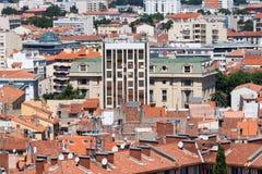 Ciudad de Perpignan en Francia Fotos de archivo libres de regalías