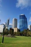 Ciudad de Perth Imagen de archivo libre de regalías