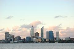 Ciudad de Perth Fotografía de archivo libre de regalías