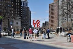 Ciudad de Philadelphia Imagen de archivo