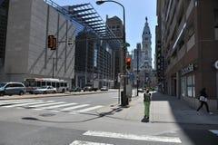 Ciudad de Philadelphia Imágenes de archivo libres de regalías