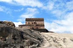 Ciudad de piedra en Georgia Fotos de archivo