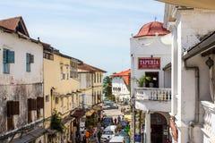 Ciudad de piedra Zanzíbar Foto de archivo libre de regalías