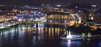 Ciudad de Pittsburgh Imagen de archivo