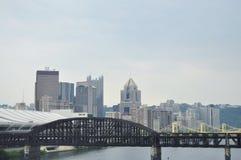 Ciudad de Pittsburgh Imagen de archivo libre de regalías