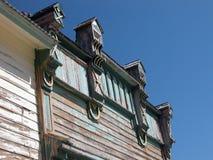 Ciudad de plata - pueblo fantasma de Idaho Fotos de archivo