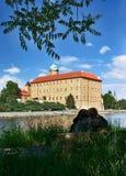 Ciudad de Podebrady - castillo imagen de archivo libre de regalías