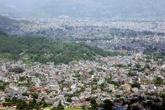 Ciudad de Pokhara Foto de archivo libre de regalías