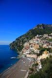 Ciudad de Positano, Amalfi Imagen de archivo