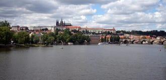 Ciudad de Praga Imagen de archivo libre de regalías