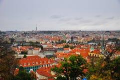 Ciudad de Praga Imágenes de archivo libres de regalías