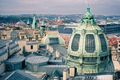 Ciudad de Praga fotografía de archivo libre de regalías