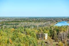 Ciudad de Pripyat Fotografía de archivo