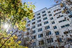 Ciudad de Pripyat Fotos de archivo libres de regalías