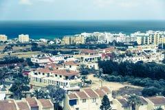 Ciudad de Protaras, Chipre Imágenes de archivo libres de regalías