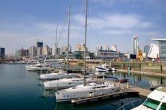 Ciudad de Qingdao fotografía de archivo