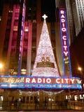 Ciudad de radio Nyc imagen de archivo