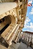 Ciudad de Rathaus Graz Fotos de archivo libres de regalías