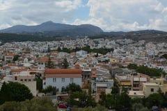 Ciudad de Rethymno Fotografía de archivo libre de regalías