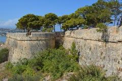Ciudad de Rethymno Imágenes de archivo libres de regalías