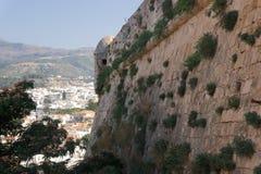 Ciudad de Rethymno crete imagen de archivo