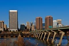 Ciudad de Richmond Virginia. Imagen de archivo