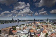Ciudad de Riga Fotografía de archivo libre de regalías