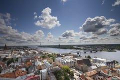 Ciudad de Riga Foto de archivo
