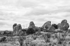 Ciudad de rocas Fotografía de archivo libre de regalías