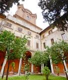 Ciudad de Roma del jardín del patio Fotos de archivo libres de regalías