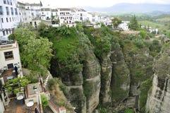 Ciudad de Ronda España Imagenes de archivo