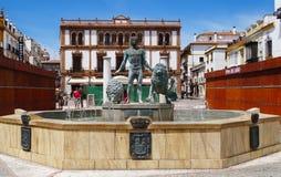 Ciudad de Ronda Old, Andalucía, España Fotos de archivo