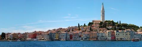Ciudad de Rovinj, Croatia Foto de archivo libre de regalías
