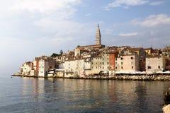Ciudad de Rovinj en Croacia Imagenes de archivo