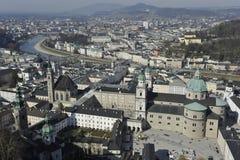 Ciudad de Salzburg Imagen de archivo libre de regalías
