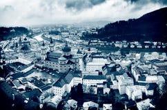 Ciudad de Salzburg Foto de archivo libre de regalías
