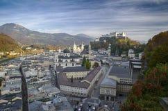 Ciudad de Salzburg Imágenes de archivo libres de regalías