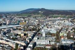 Ciudad de Salzburg Fotografía de archivo