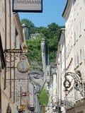 Ciudad de Salzburg Imagenes de archivo