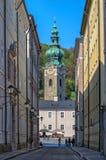Ciudad de Salzburg, Austria Foto de archivo libre de regalías